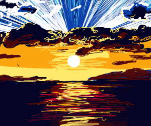 Sunset prompt Number 197
