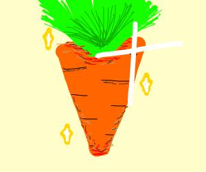 carrot shining