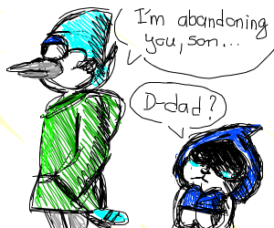 Mordecai abandoned his son Lancer