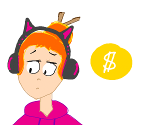 youtube girl sad from demonetization