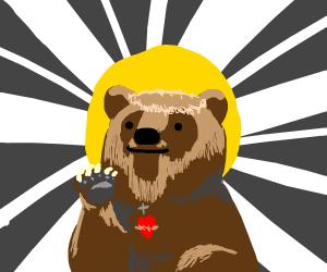 Bear jesus christ