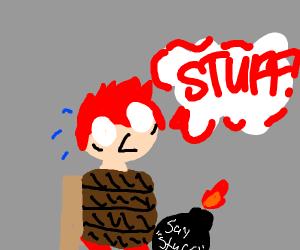 Redhead must say stuff