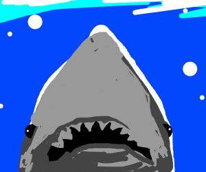 The jaws poster minus the swimmer
