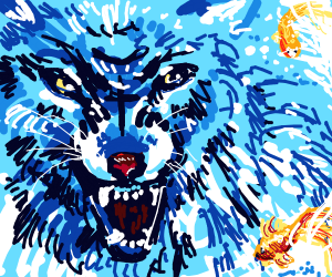 dat wolf ;-;
