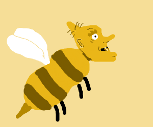 Arnold's Grandpa as a bee