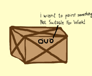 box wants to paint something nsfw