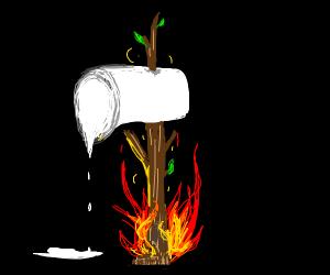 Marshmallow axe