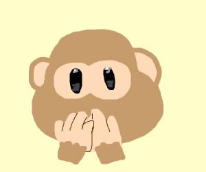 Monkey Mouth Cover Emoji