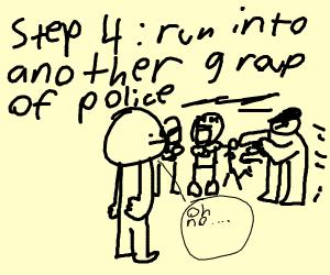 Step 3: Create a diversion and escape