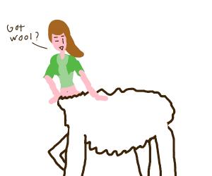sheep centaur
