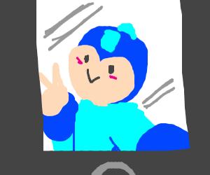 Mega Man cosplay