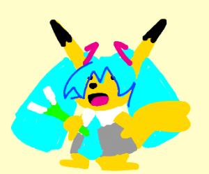Miku Pikachu