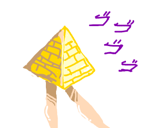 pyramid with legs