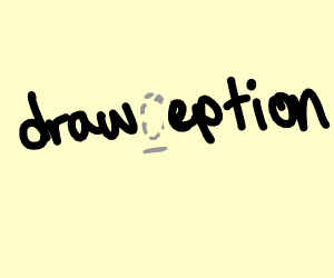 The c in drawception is misssing