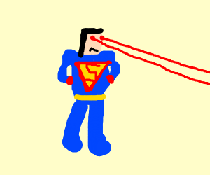 Superman looks at his exes