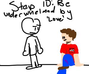 step 9: find love