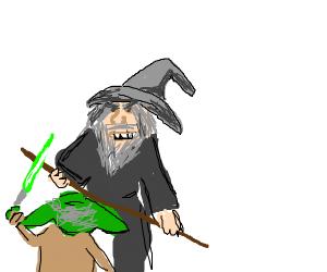 gandalf vs yoda