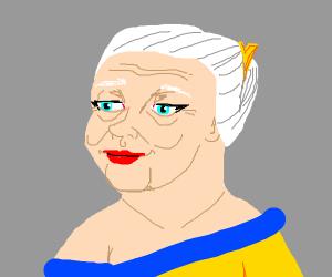 Attractive grandma