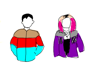 Mannequins wearing Jackets