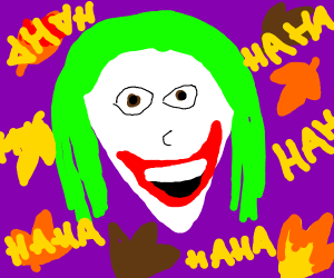 joker in the autumn
