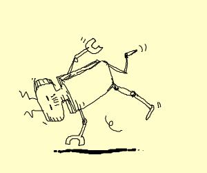 Break dancing robot