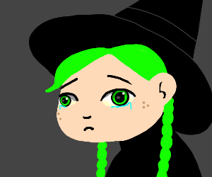 Witch is crying