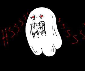 Ghost hisses