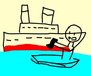 Phil Swift fixed the Titanic using Flex Tape