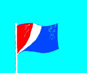 Pepsi flag