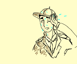 Sweaty detective