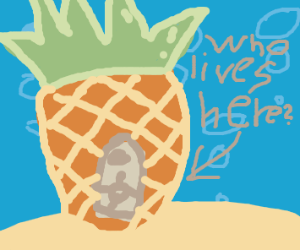 Who lives in a pineapple under the sea?(cont)