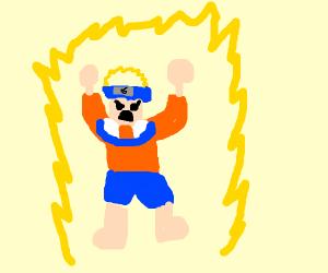 Naruto from Dragonball Z (favorite MHA hero)