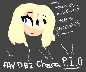 Fav DBZ Character P.I.O