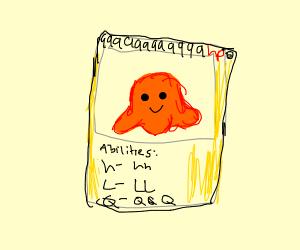SCP-999 Pokémon card