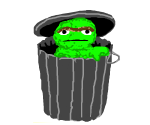 Oscar from Sesame Street