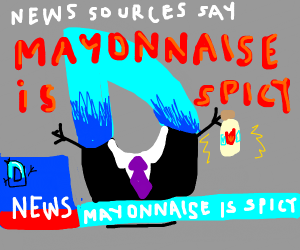 mayonnaise is spicy