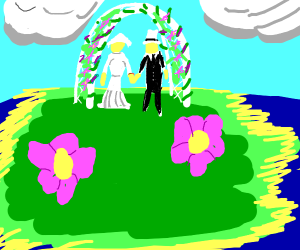 marriage on an island