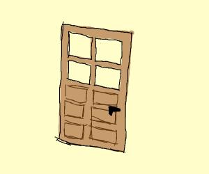 minecraft wooden door