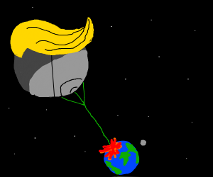 donald trump destroys the world