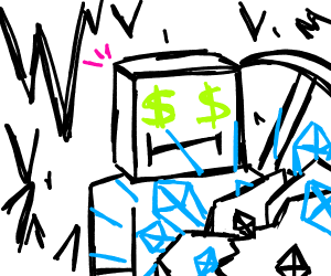 Mining diamonds to be rich