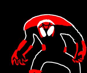 Spiderman got possessed