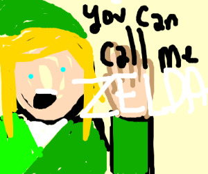 Hi I'm Link, but you can call me Zelda