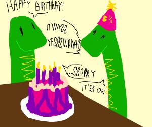 happy birthday to Mrs. Snake