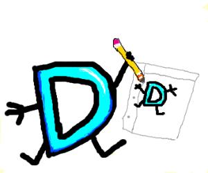 d i drawing a d