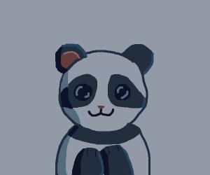Cute Panda loves you