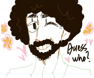 Just Draw Bob Ross