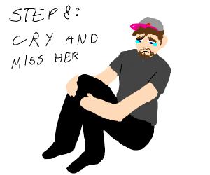 step 7; D I V O R C E H E R
