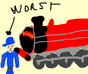 Worst hogwarts train conductor