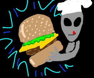 Alien Krabby Patty