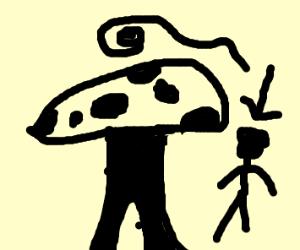 someone tp'd a mushroom house